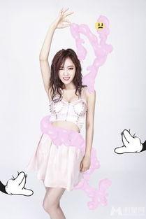 t ara小分队新专辑封面写真