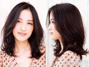 简约韩式女生中长发型 彰显知性轻熟美