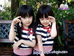 台湾双胞胎小美女最新相片