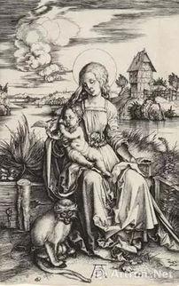 ...母、圣子与猴子1498年-猴年 猴 文物大集合 博物馆里的 大圣 归来
