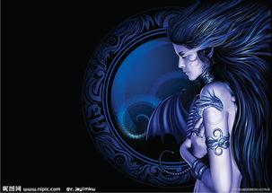 魔幻女性图片