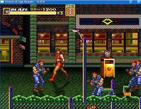...人物加强版街机游戏下载 怒之铁拳3下载 快猴单机游戏