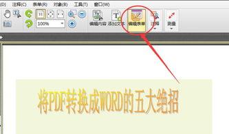 PDF文件中的文字表单怎么修改 详细图文教程