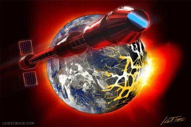 科学解析 世界末日来临时人类如何逃离地球