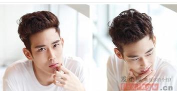 韩国大背头发型 -男生短发头型两边剪 发型百科