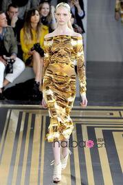 古埃及文明都市重生记 Topshop Unique 2012春夏女装秀大图 细节 视...