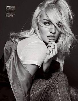 ...多利亚天使超模坎迪斯·斯瓦内普尔(Candice Swanepoel)登上英...
