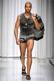 K 美国男模 Nate Gill ,黝黑皮肤下的无限活力