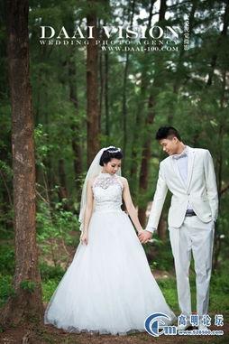 外景婚纱照的拍摄禁忌