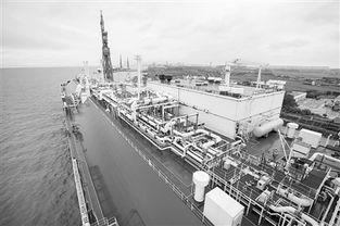 盛夏的沪东中华零号基地码头,一艘舱容17.4万立
