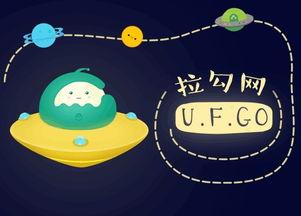 拉勾网吉祥物设计UFGO