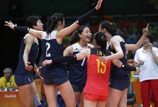 三张王牌助中国女排进决赛