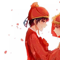 情侣头像 从校服到婚纱,从青丝到白发