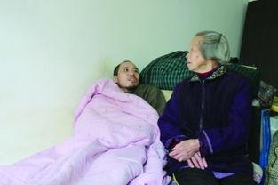 两家庭奶奶乱情-...三口两人卧床 老太不言弃
