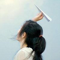 头上带花的意境唯美女生头像 QQ女生意境头像高清晰