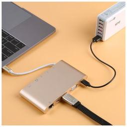 CE LINK1518 type c多功能扩展坞 USB C转USB3.0高清HDMI千兆网卡...