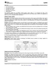 ...ents厂商 BQ2060A E619DBQG4 pdf预览第 27 页, datasheet数据手...