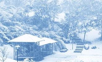 描写雪景的唯美句子