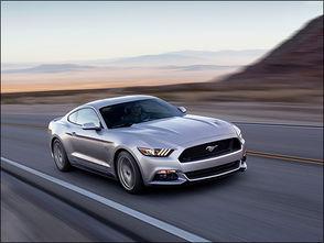 还是肌肉车 全新福特野马官图解析