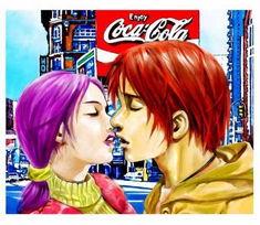 恋人之吻 -动漫天地