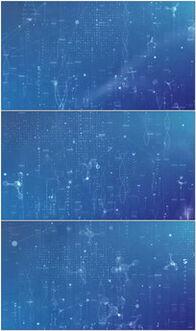 医疗科技蓝色背景图片 医疗科技蓝色背景设计素材 红动网
