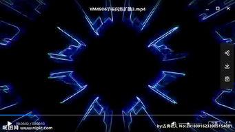 LED视频动态背景光效素材图片