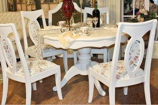 家庭饭桌-家用餐桌图片