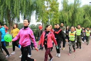 2017漯河环沙澧河国际徒步大会举行 组图