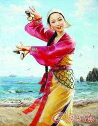 远离铜臭的朝鲜油画