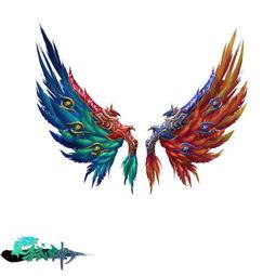 佛陀弑世-翅膀可以升级、注灵、进化等方式从一阶成长为六阶,从而呈现它最美...
