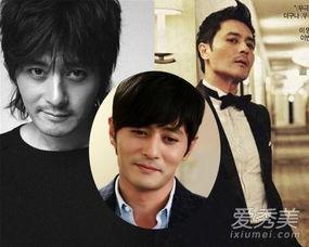 韩国最帅男演员排行榜出炉 10大男神发型PK
