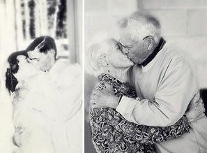 ...夫妇再现年轻老照片 证明真爱永恒