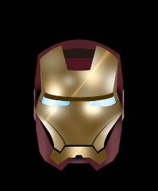 对话矢图钢铁侠面具-对话矢图