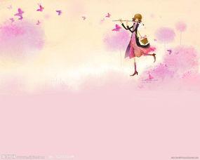 小提琴女孩图片