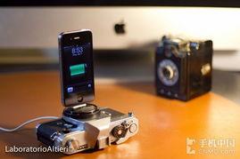 苹果手机u2烧录座-文艺小清新 iPhone复古相机充电底座