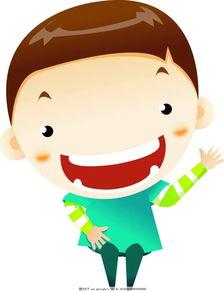 超可爱-卡通大头娃娃男孩