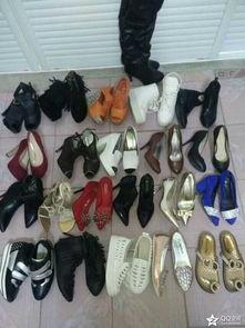 闲置鞋子 二手物品,介意慎拍 打算出售所有高跟鞋 要是生孩子肯定穿...