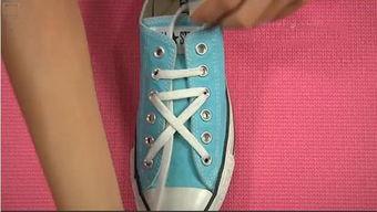 好看的鞋带系法5孔 6孔图解 简单好看的鞋带系法分享