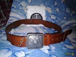 诺笙花-花笙记中国风皮带  小铆钉点缀装饰.