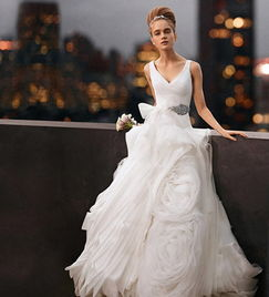 ...y vera wang婚纱价格史上最低 让平民也能圆公主梦想