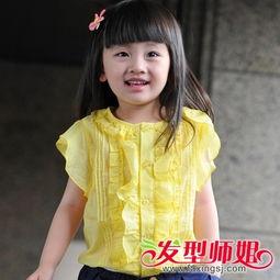 小女孩波波头发型 天真可爱的儿童波波头发型图片 发型师姐