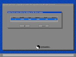 恢复被GHOST格式化了整个硬盘的分区