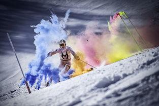...利完成和全方位视频记录,?-澳滑雪冠军挑战极限 彩虹 滑雪 美轮美奂