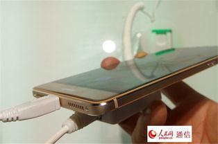 高清组图 华为发布全球首款按压触控智能手机 具 称重 功能