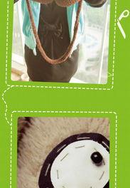 小猴子创奇-抱璞创意 原创 小猴 小咖 小熊 手套 超萌 情侣手套