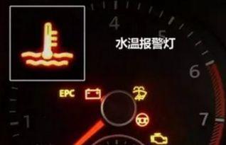 汽车冷却液不足标志是什么