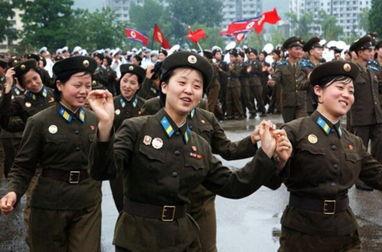 ...射 揭秘神秘的朝鲜女兵