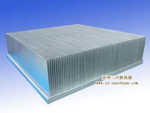 铝制钎焊插片式散热器