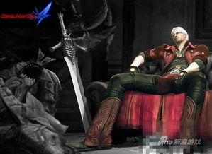 夕阳帅老头宝刀未老-在《鬼泣4》中,前三代的主角但丁以成熟大叔的形象出现,虽然初期...