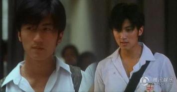18岁的谢霆锋在《古惑仔之少年激斗篇》中的校服扮相,当年的谢霆锋...
